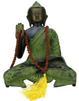 Klassic Mala Gebetskette Buddhismus Indien 108 Perlen Rudraksha Perle