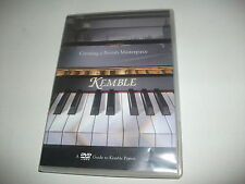 RARE DVD Creating a British Masterpiece GUIDE TO KEMBLE PIANOS London PAL & NTSC