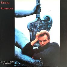 "Sting 12"" Russians - France (VG+/EX)"