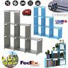3-tier Storage Cube Closet Organizer Shelf 6-cube Cabinet Bookcase US STOCK