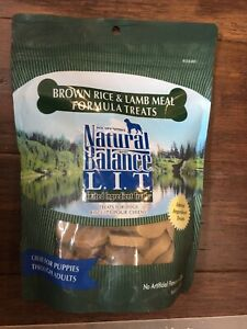 Natural Balance - Brown Rice And Lamb Formula Treats