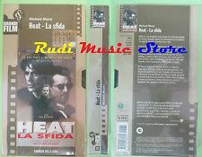 film VHS cartonata HEAT LA SFIDA SIGILLATA Michael Mann CORRIERE SERA(F80)no dvd