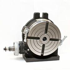 Vertex Hv 6 4 Slot 6 Horizontalvertical Rotary Table With 4 Slot Face Plate