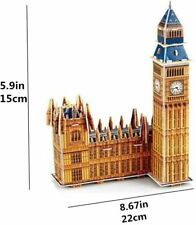 568-A Best Big Ben 3D Jigsaws PUZZLE 34 Pcs