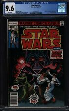 "Star Wars #4, CGC 9.6, White pages, ""Death"" of Obi-Wan Kenobi"