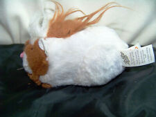 Zhu Zhu Pet Hamster Pax White With Name Tag Tested and Working