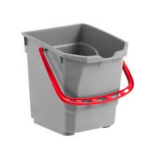 Kundendienst Eimer grau 10 Liter mit Schwammablage 1xStück