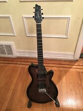 Godin xtSA Electric Guitar Trans Black