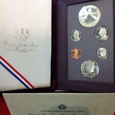 1988-S Proof PRESTIGE SET 6 Coin w/Box and Cert