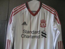 NWT Authentic Adidas 2010 Liverpool player Issue TECHFIT Jersey Gerrard Suarez m