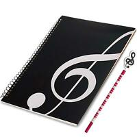 WOGOD Blank Sheet Music Music Manuscript Paper/Musicians Notebook /Composition