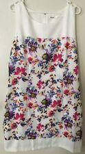 Cotton Blend Tunic Floral Plus Size Dresses for Women
