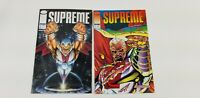 Image Supreme Comic  Book # 1 2 1992 Silver Foil Collectable Vintage