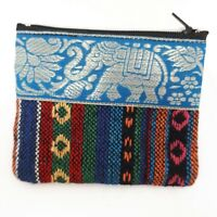 Thai Fabric Handcraft Small Coin Purse Wallet Zip Bag Buy 5 Get 1 Free