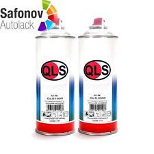 QLS Spray basislack Kit 2 x 400 ML SUBARU 37J Satiné Blanc Pearl { QLS 1477 }