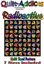 """""""RADIOACTIVE"""" Multi Sized Patchwork Quilt Pattern"""