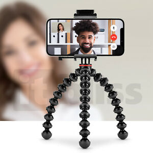 JOBY GripTight Action Kit Tripod Bluetooth Remote Zoom Facetime Microsoft Teams