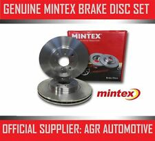 MINTEX FRONT BRAKE DISCS MDC845 FOR HYUNDAI S COUPE 1.5 1990-92