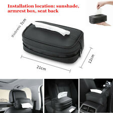 Car Sunshade Hanging Tissue Box Tray Multi-function Home Tissue Extraction Box