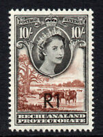 Bechuanaland 1 Rand on 10/- Mounted Mint Stamp c1961 (2683)