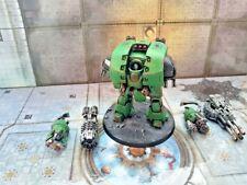 Salamanders Leviathan Dreadnought painted exclusive pack Warhammer 40k