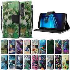 For Motorola Droid Turbo 2 Kinzie / X Force XT1580 Wallet Card Stand Case Cover
