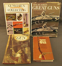 Lot of (4) Classic gun Books Hardcover