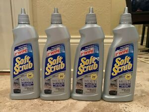 Soft Scrub Multi-Surface No-Rinse Gel Cleaner and Polish 18.3 oz each PACK of 4