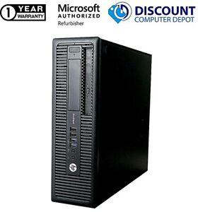 HP ProDesk Desktop Computer Intel Core i5 6th gen 8GB 1TB HD Windows 10 PC DVD