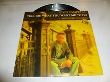 "TEVIN CAMPBELL - Tell Me What You Want Me To Do - 1992 UK 4-track 12"" Single"
