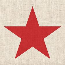 """ambiente Servilletas """"Star lino rojo """" 20 piezas,arena colores,ESTRELLA"""