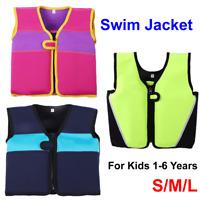 Children Swimming Buoyancy Vest Floating Suit Swim Life Jacket Kids 1-6 Years