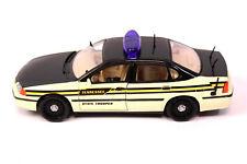 MAISTO 2000 Chevrolet Impala Tennessee State Trooper Auto 1:24 DIE-CAST Polizei