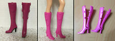 Barbie Model Muse Fashion Fever Fashionista Heel Snap Closure Boot Shoe - CHOOSE