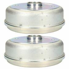 Trailer Brake Drum for Knott 203x40 Brake Shoes 139.7mm PCD 4 Stud M12 2pk