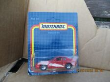 MATCHBOX PORSCHE 944 TURBO RED 1987 1/57 ON slightly creased card