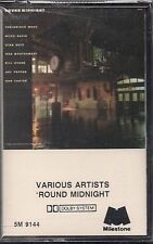 New: 'ROUND MIDNIGHT- Various (Miles Davis/more) Jazz  CASSETTE