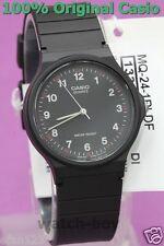 MQ-24-1B Casio Watch Black Unisex Water Resist Analog Plastic Band Brand-New