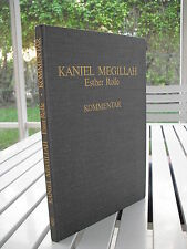 Judaica Kaniel Megillah Esther Rolle By Michael Kaniel 1984 Isbn 3201012467