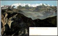 Litho-AK SCHWEIZ ~1900 Bern Alpen Berg Pilatus Berge, alte Postkarte