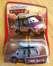 Disney PIXAR World of Cars LEROY TRAFFIK #28 mattress minivan diecast retired