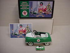 TEXACO STAR 1948 BMC METAL BANK PEDAL CAR 1/6 SCALE LIGHTS UP + ORNAMENT #3 NICE