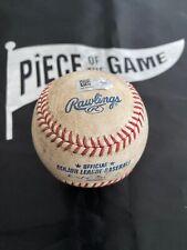 Clayton Kershaw to Madison Bumgarner MLB Game used Strike Baseball Dodgers