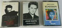 John Waite - No Brakes & Rovers Return & Ignition. Retro Pop Cassette Tapes