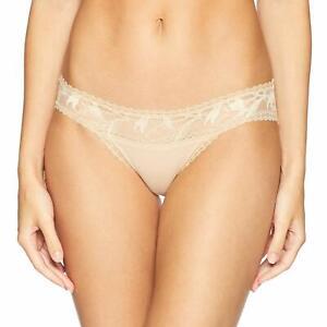Calvin Klein Perfectly Fit Perennial Lace Bikini Panties Bare Underwear QF4753