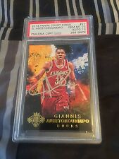 2014 Giannis Antetokounmpo Court Kings Personal Auto PSA GEM MINT Card And Auto