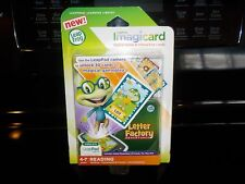 NEW LEAP FROG IMAGICARD LETTER FACTORY ADVENTURES READING/SPELLING 4-7 YEARS