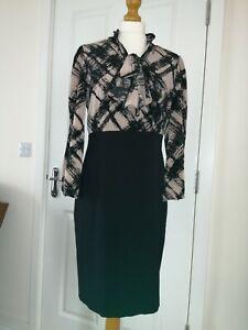 Anne Klein Smart Pencil Dress Size UK 10/12