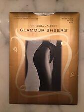 Rare Victoria's Secret Pantyhose Silver Cloud Medium