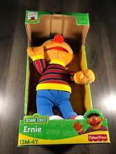 Fisher Price Sesame Street Ernie Plush 2004 Brand New In Box